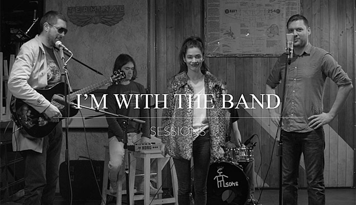 I'M WITH THE BAND Sessions 02: Jin Monic